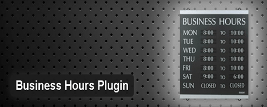 11- Business Hours Plugin