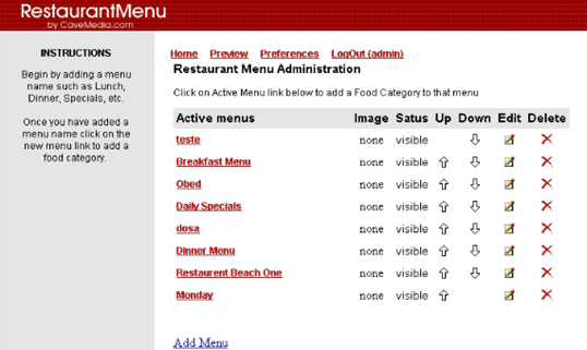 23-CS Restaurant Menu Script v2.0