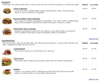 24-PHP Restaurant Menu Script Classic