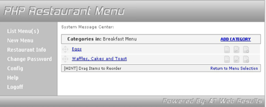 25-The Ultimate Restaurant Menu Script