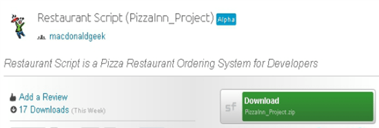 26-Restaurant Script (PizzaInn_Project)