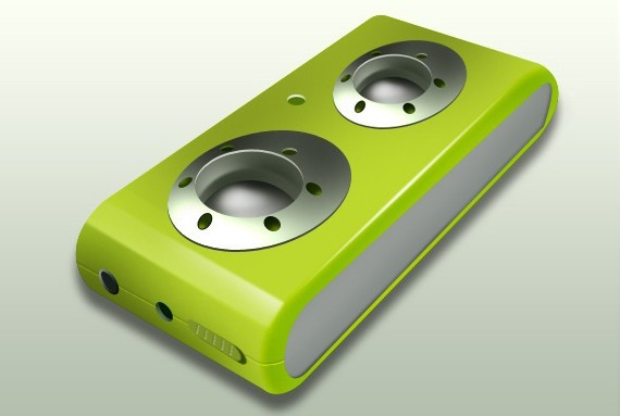Create an USB Portable Audio Speaker Design in Photoshop