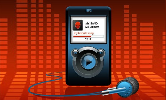 MP3 Player Illustration