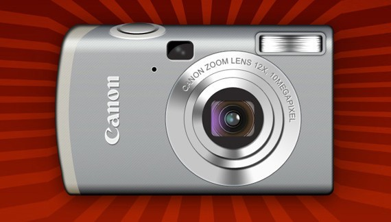 Designing Canon Digital Camera