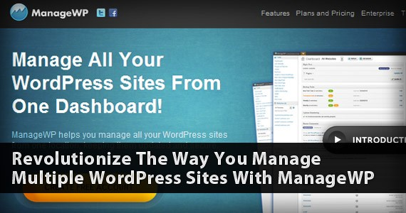 Revolutionize The Way You Manage Multiple WordPress Sites With ManageWP