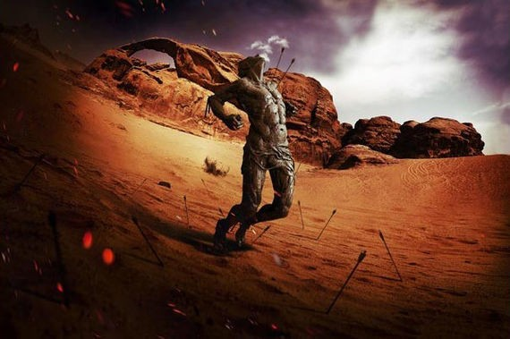 How to Create a Dramatic Fisheye Spartan Scene with Photoshop