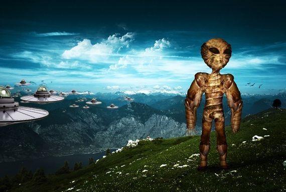 Create a Vivid Alien Invasion Scene with Photoshop