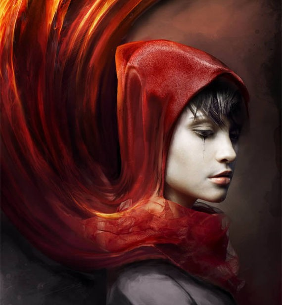 Create a Red Riding Hood Themed Photo Manipulation in Photoshop