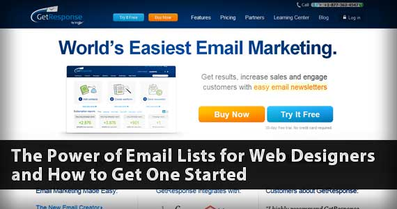 The Power of Email Lists for Web Designers and How to Get One Started