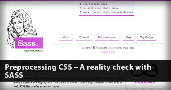 Understand the Power of Sass and Why You should use CSS Preprocessors