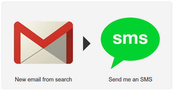 Gmail notification for new email
