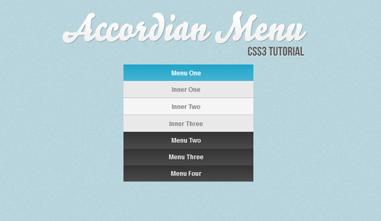 Accordion-2-css3-text-effect-tutorials