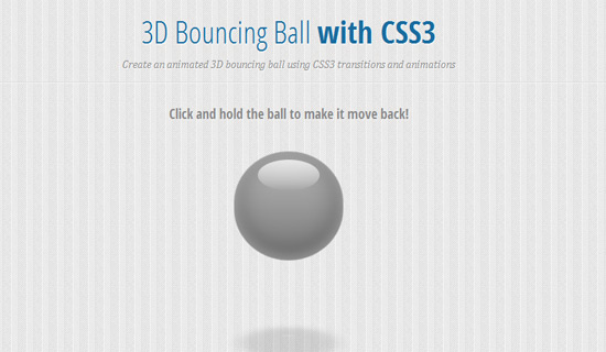 Bouncing-ball-css3-text-effect-tutorials