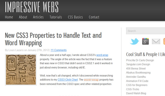 Properties-css3-text-effect-tutorials