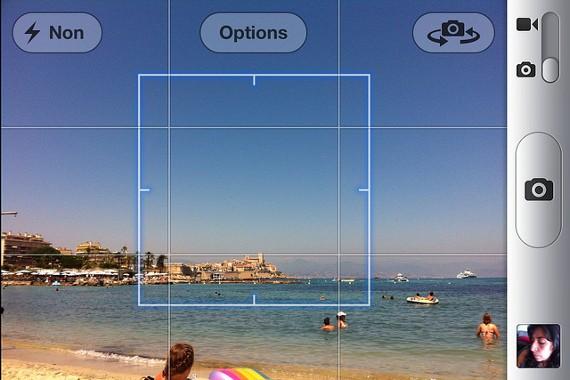 Camera Grids in iPhone