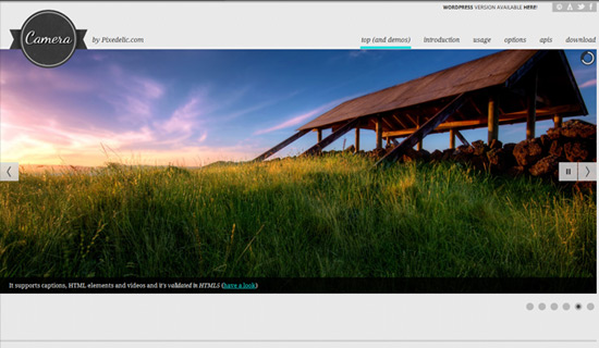 Camera-jquery-image-gallery-plugins