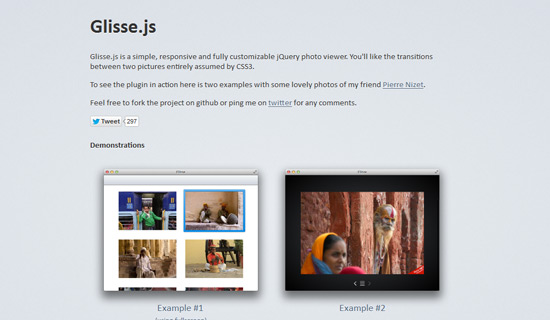 Glisse-jquery-image-gallery-plugins