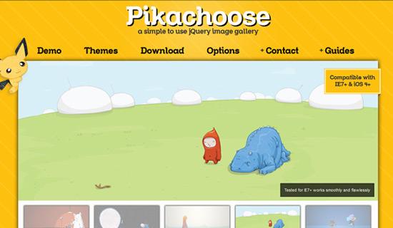 Pikachoose-jquery-image-gallery-plugins