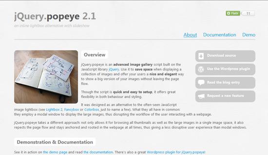 Popeye-jquery-image-gallery-plugins