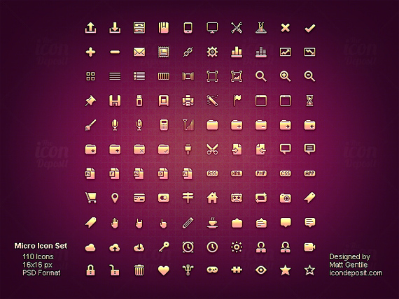 20 Free Sets of Minimally Designed Icons for Your Next Project