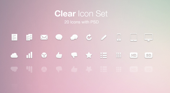 Set-free-minimal-clean-icons