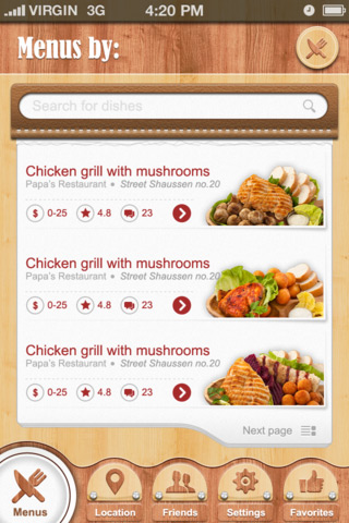 Restaurant-mobile-app-designs