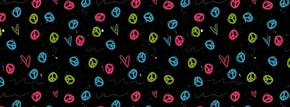 Hearts-peace-free-photoshop-patterns