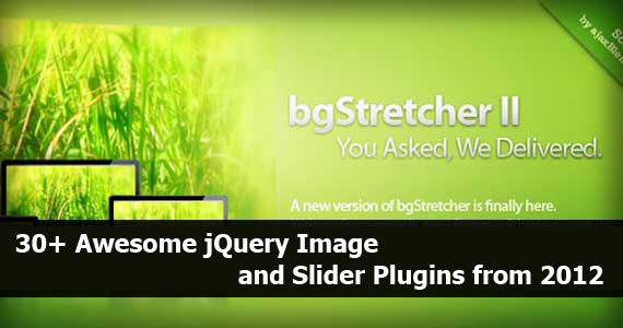 30+ Awesome jQuery Image and Slider Plugins from 2012