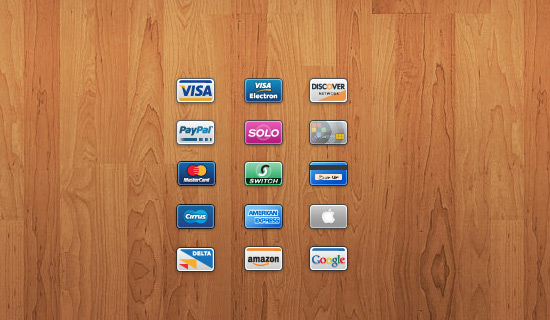 Credit-card-psd-web-interface-elements