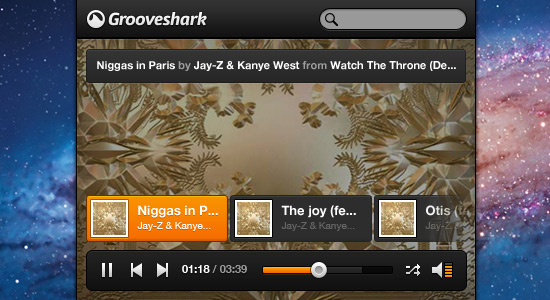 Grooveshark-psd-web-interface-elements