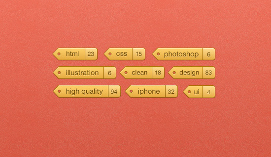 Tags-psd-web-interface-elements