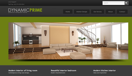 Remarkable Modern Interior Wp Theme Images - Simple Design Home ...