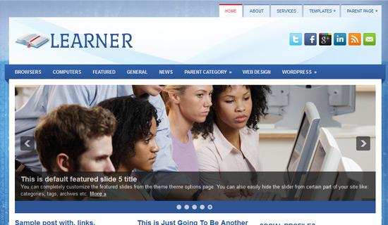 Learner-free-wordpress-themes-2012