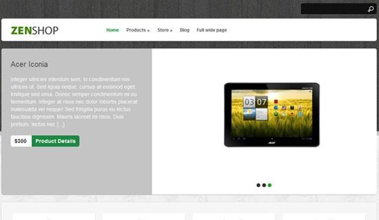 Zenshop-free-wordpress-themes-2012
