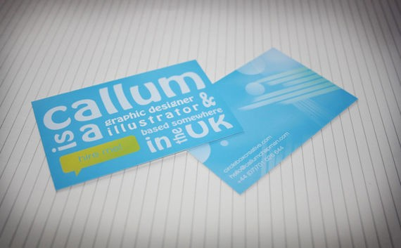 How to Design an Abstract Business Card in Photoshop