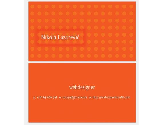 Design Slick Print Ready Business Card