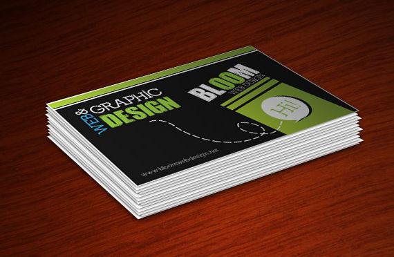 Design a Cool Print Ready Business Card