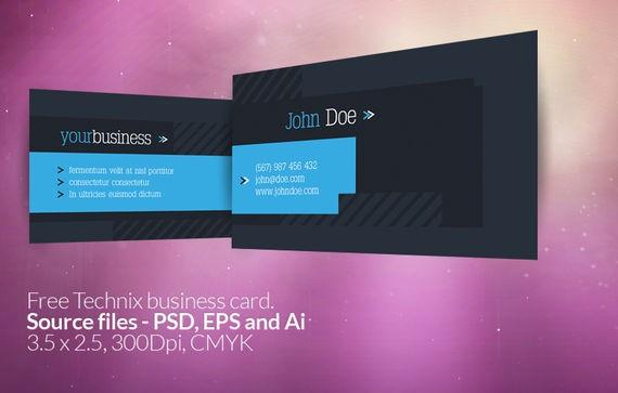 Technix Business Card