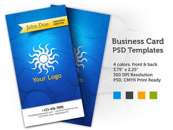 Business Card PSD Templates