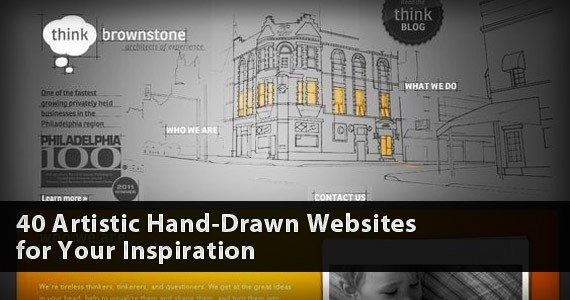 40 Artistic Hand-Drawn Websites for Your Inspiration