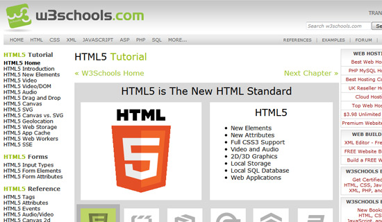 30 must see html5 tutorials to wow your audience w3schools removed because of w3fools stopboris Images