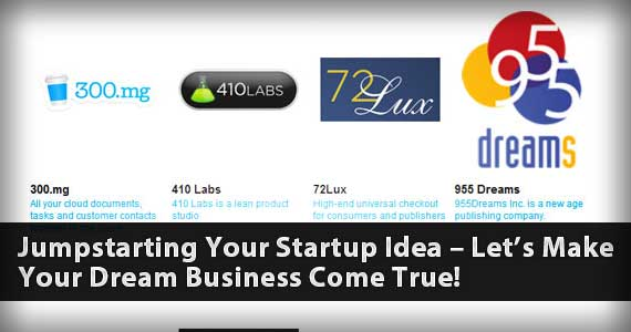 Jumpstarting Your Startup Idea – Let's Make Your Dream Business Come True!