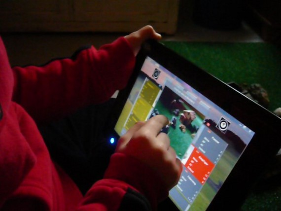 Tablet Device in action
