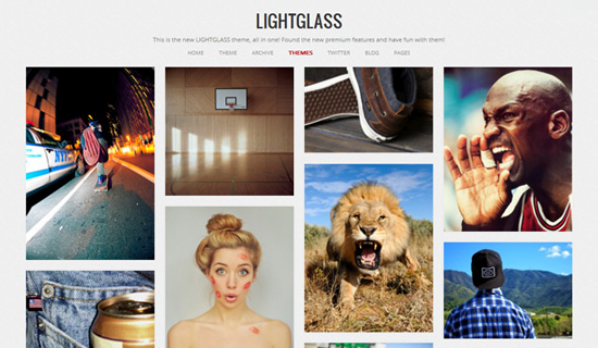 Lightglass-free-tumblr-themes