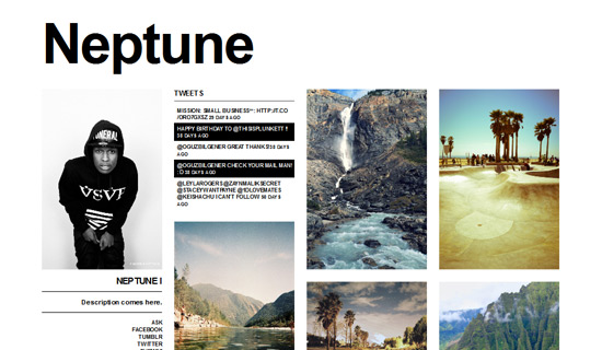 40 Free And Premium Beautiful Themes for Your First Tumblr Blog