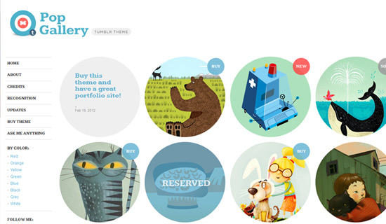 Popgallery-free-tumblr-themes