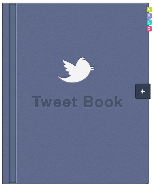 Tweet Book Cover Design
