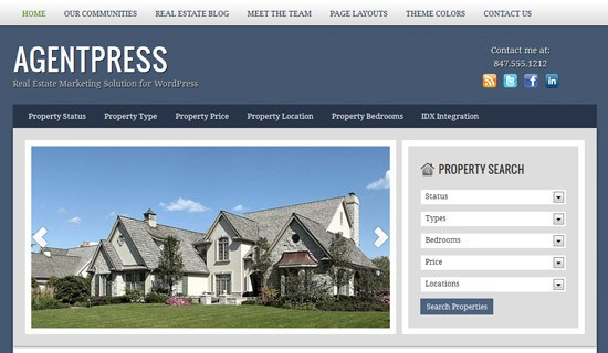 Agentpress-premium-wordpress-themes-2012