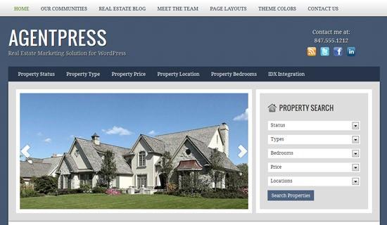 Agentpress-premium-wordpress-themes-2012