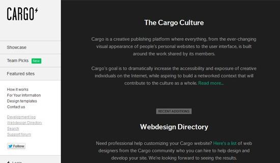 Cargo-create-online-portfolio